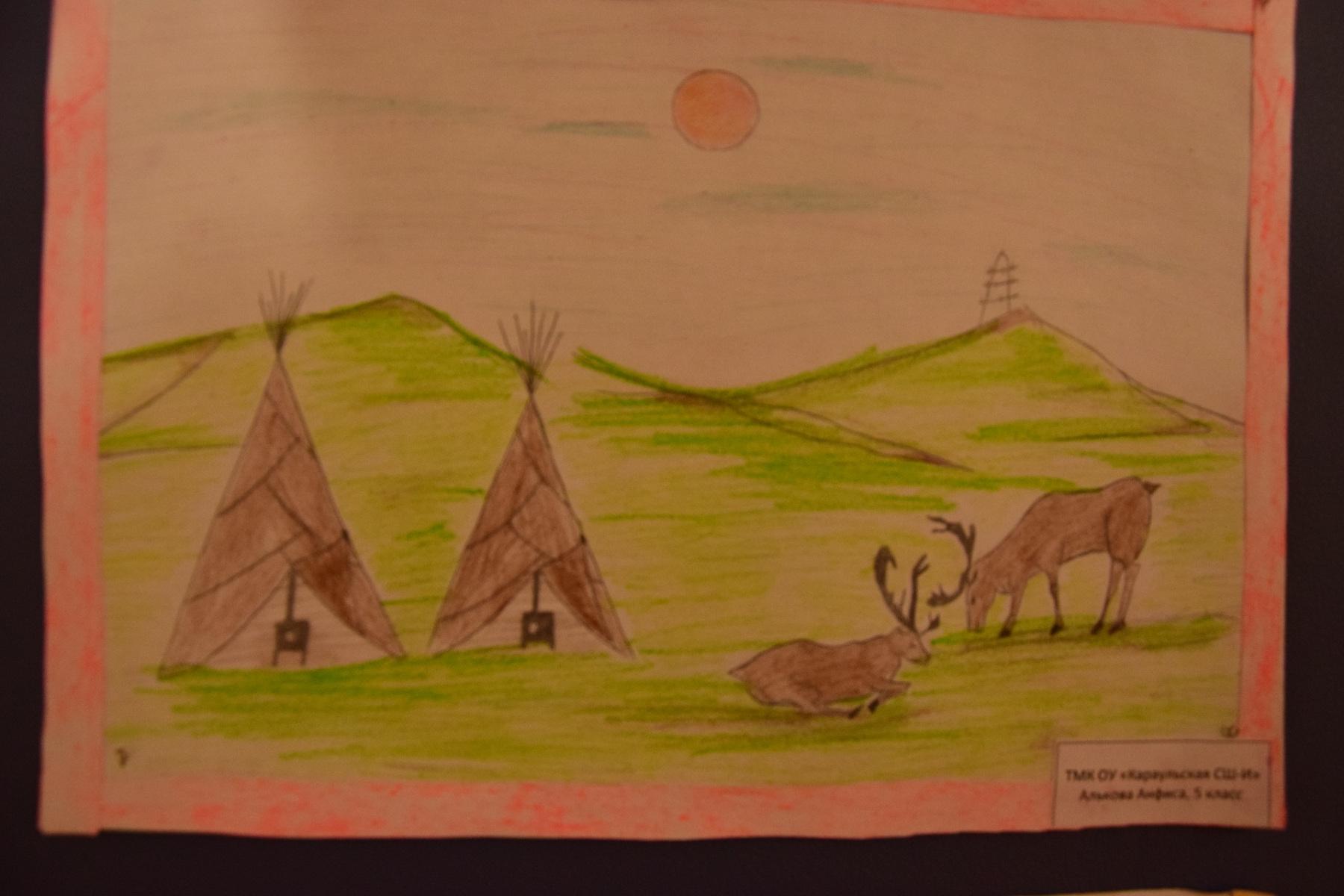Детская-выставка-рисунков-посвященная-Дню-Таймыра-2